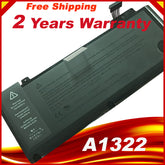 "Laptop Battery A1322 For APPLE MacBook Pro 13 "" Unibody A1278 Mid 2009 2010 2011 2012 Battery+ Gift Screwdriver"
