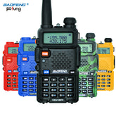 UV-5R Walkie Talkie Professional CB Radio Baofeng UV5R Transceiver 128CH 5W VHF&UHF Handheld UV 5R For Hunting