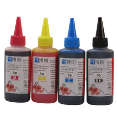 Universal 4 Color Dye Ink For HP,4 Color+100ML,for HP Premium Dye Ink,General for HP printer ink all models