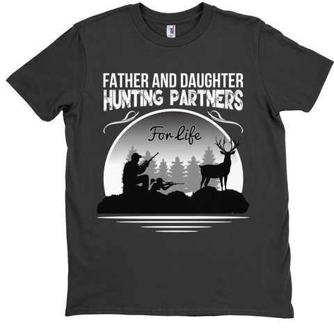 Father And Daughter Hunting Partners For Life T-Shirt - Hunt Lab Technologies