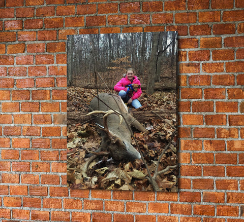 Your Photo On Canvas Custom Framed Canvas Wall Art - Hunt Lab Technologies