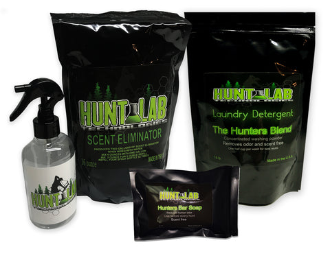 Hunt Lab Deluxe Combo Scent Eliminator Kit - Hunt Lab Technologies