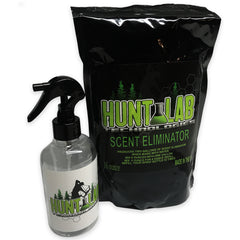 Scent Eliminator Kit - Organic Scent Block Hunting Combo Kit - Hunt Lab Technologies
