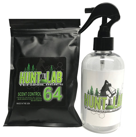 Hunt Lab Scent Control 64 - Organic Scent Eliminator Kit - Hunt Lab Technologies