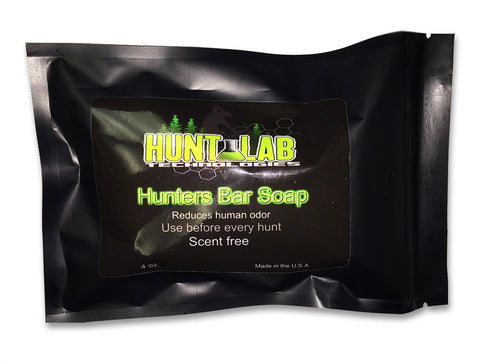 Hunters Bar Soap 4 oz - Hunt Lab Technologies