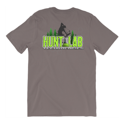 Hunt Lab Logo T-Shirt Font & Back Print - Hunt Lab Technologies