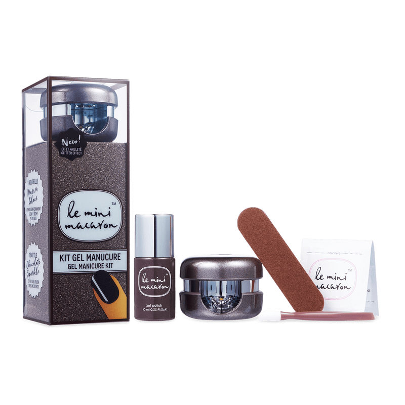 Chocolate Sparkle - Gel Manicure Kit Gel Manicure Kit Camelia Beauty