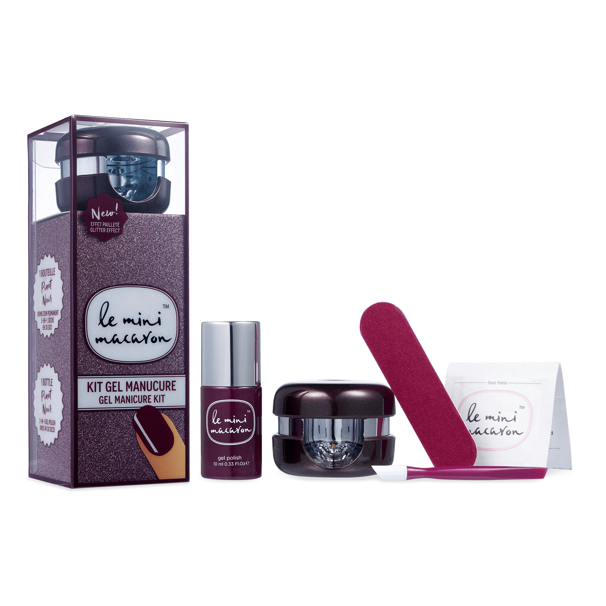 Pinot Noir - Gel Manicure Kit Gel Manicure Kit Camelia Beauty