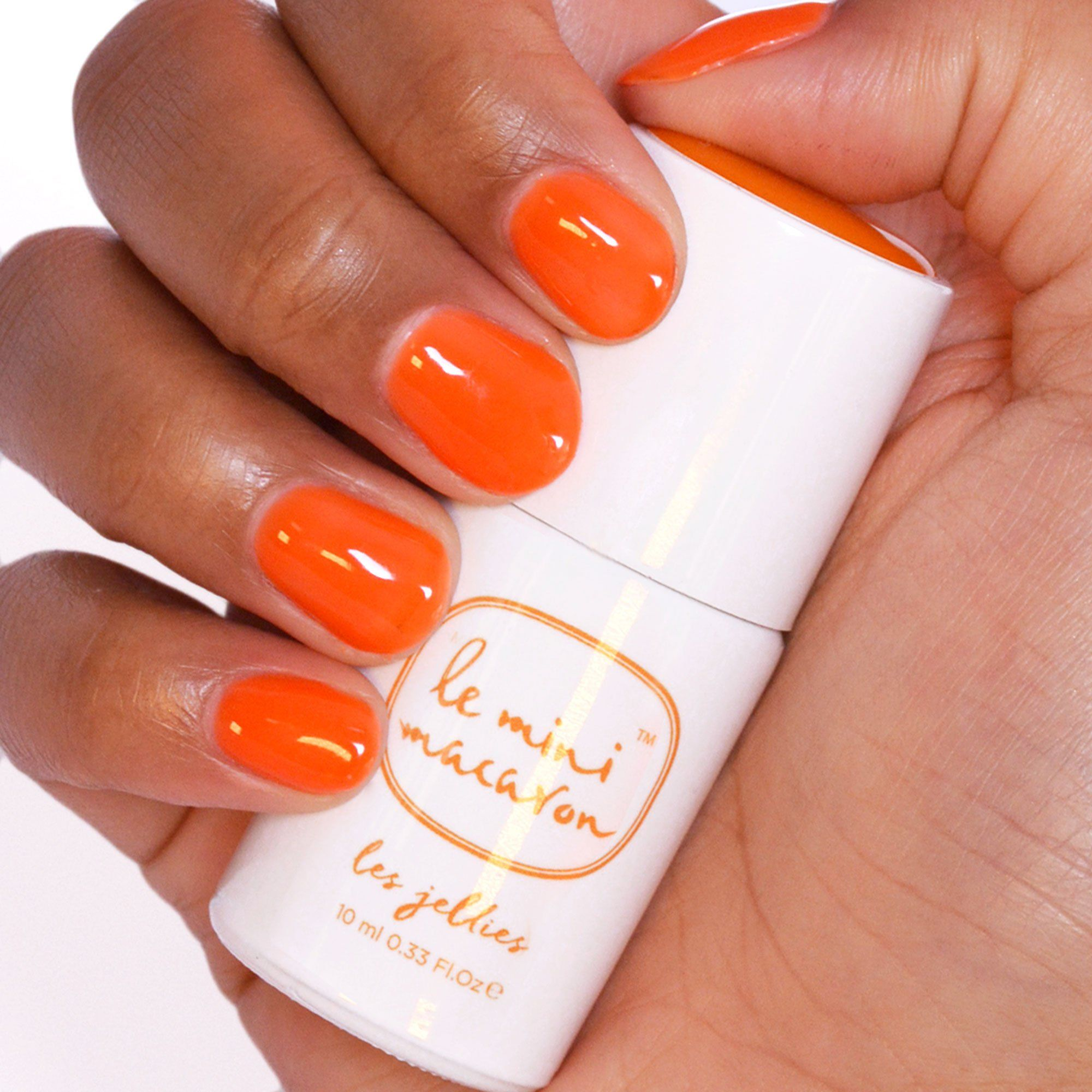 Les Jellies - Mango Jelly Gel Polish Le Mini Macaron Europe
