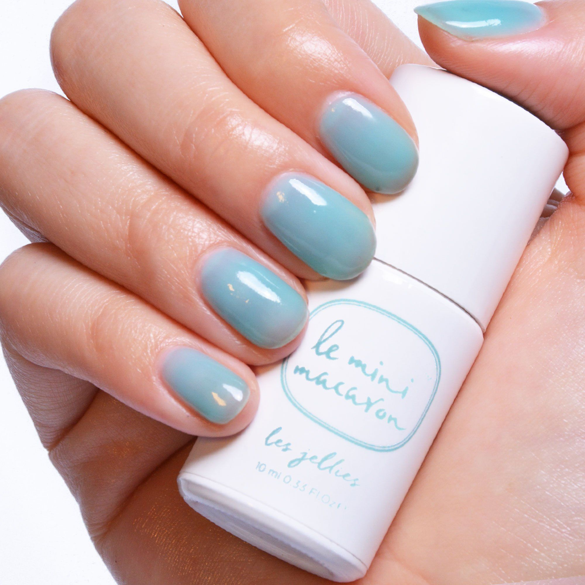 Les Jellies - Mint Jelly Gel Polish Le Mini Macaron Europe