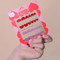 """La Touche Finale"" Mini Nail Stickers - You, Me, Oui - Le Mini Macaron"