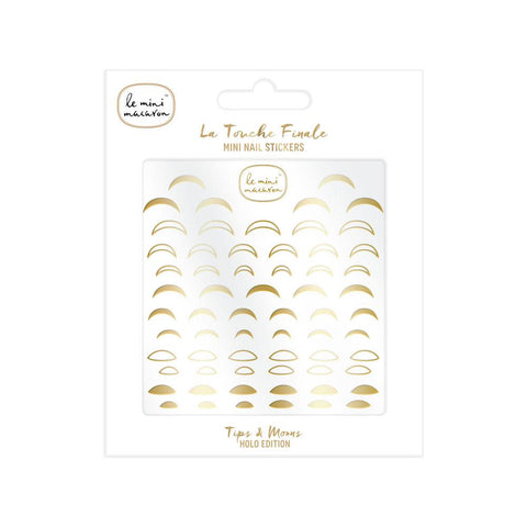 """La Touche Finale"" Mini Nail Stickers - Tips & Moons Le Mini Macaron Europe"