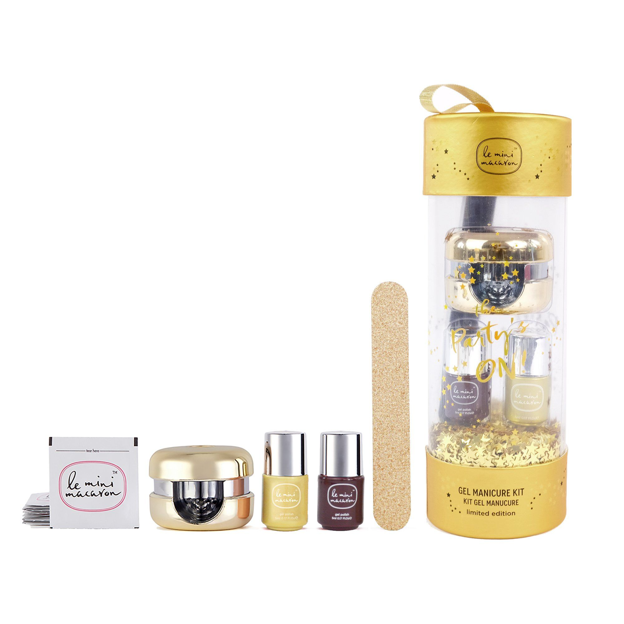 Limited Edition Gold Ornament Gift Set Gel Manicure Kit Camelia Beauty