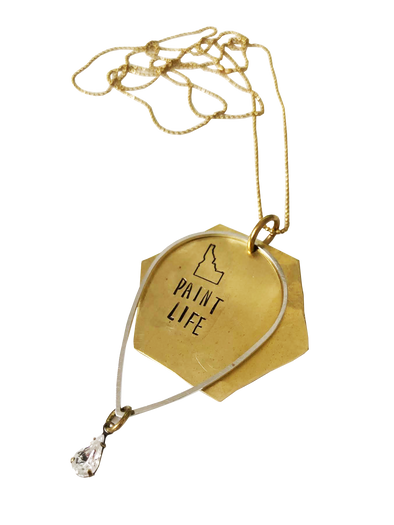 Paint Life Necklace