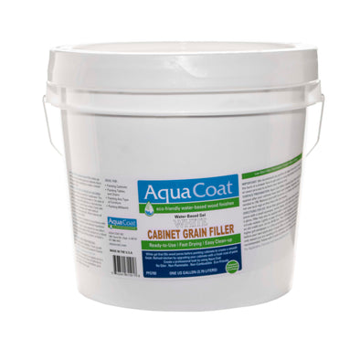Aqua Coat White Wood Grain Filler