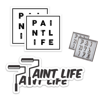 Paint Life Sticker Bundle