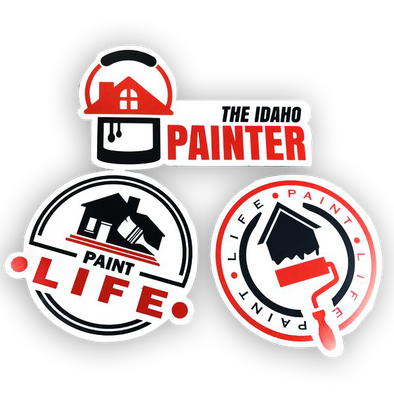 Paint Life Stickers