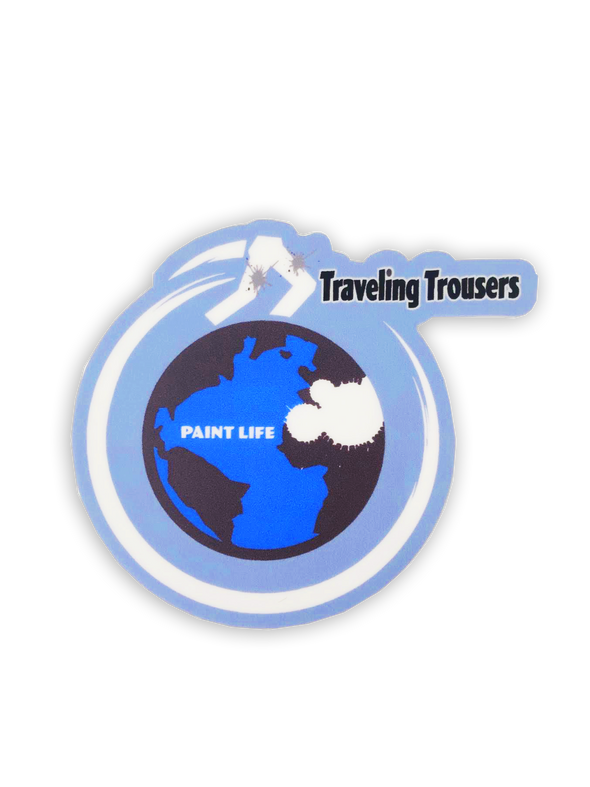 Traveling Trousers Sticker