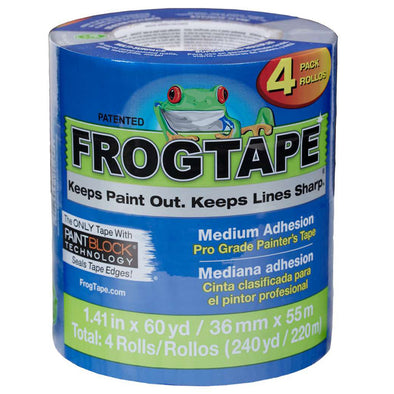 "FrogTape Blue 1.5"" 4pack"
