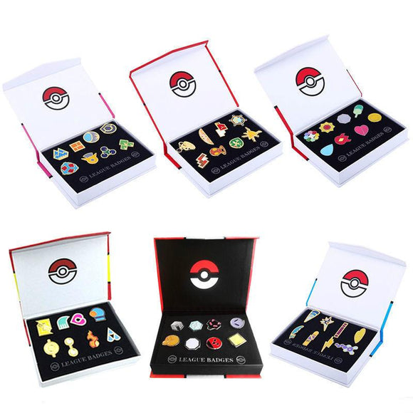 8 Badges Pokemon ! -50% !