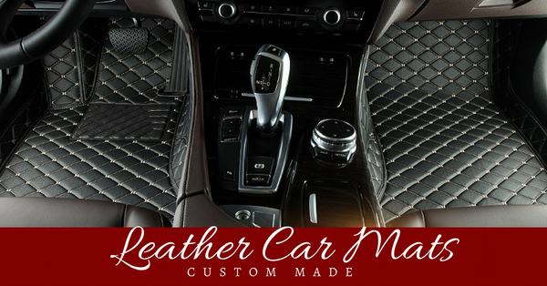 Custom Made Leather Car Mats Elite Car Mats