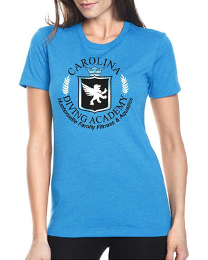 Carolina Diving Academy Ladies Fitted T-Shirt