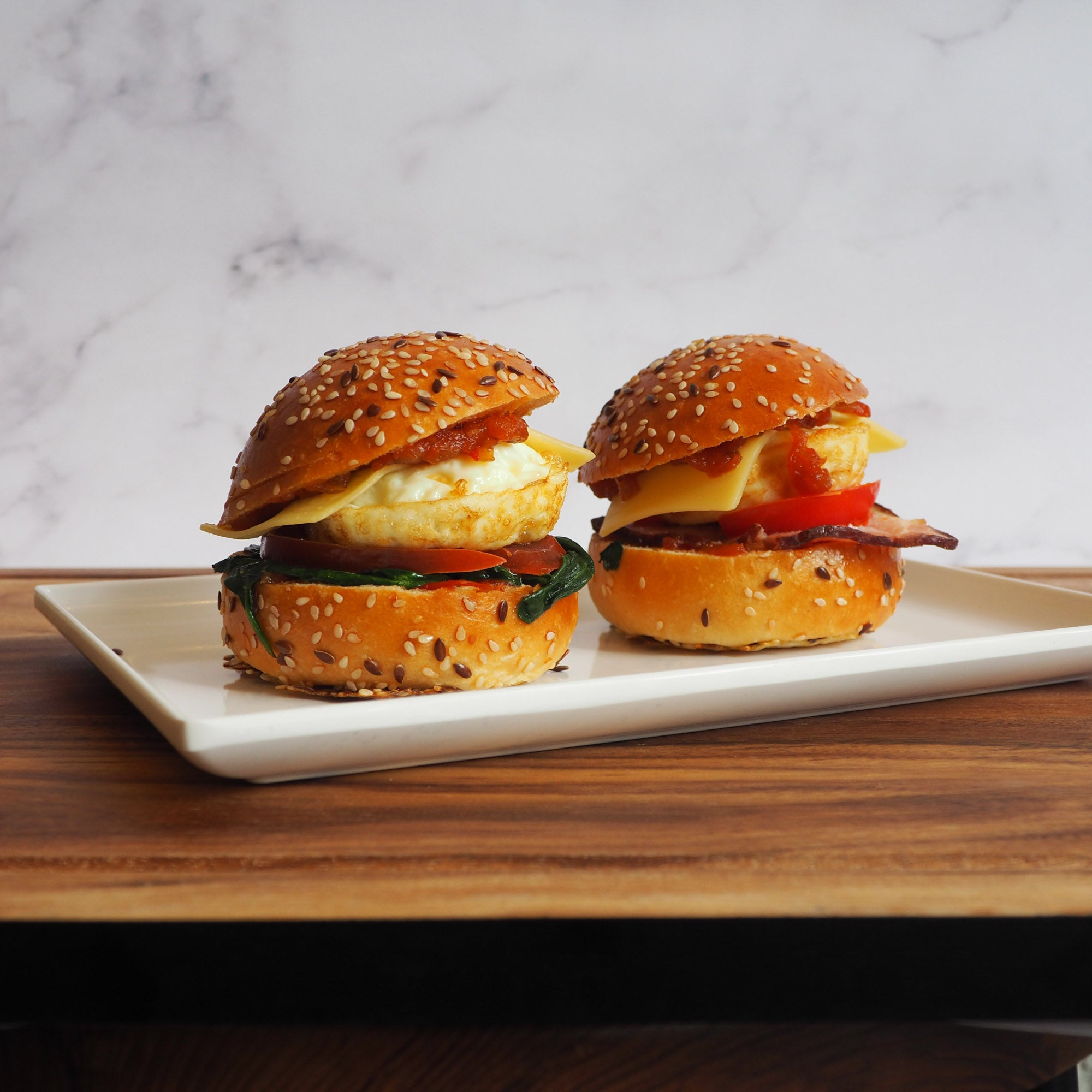 Brekky Sliders & Rolls