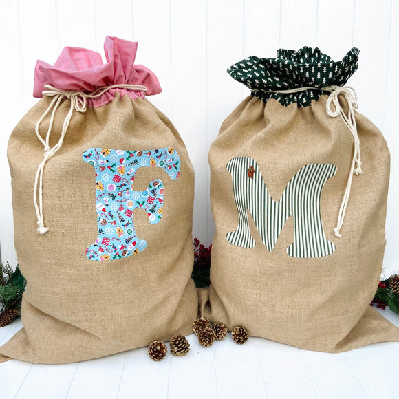 Christmas Santa Sacks and Stockings