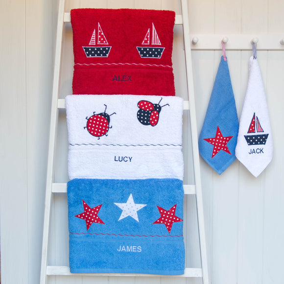 Towels for the beach, bath and pool
