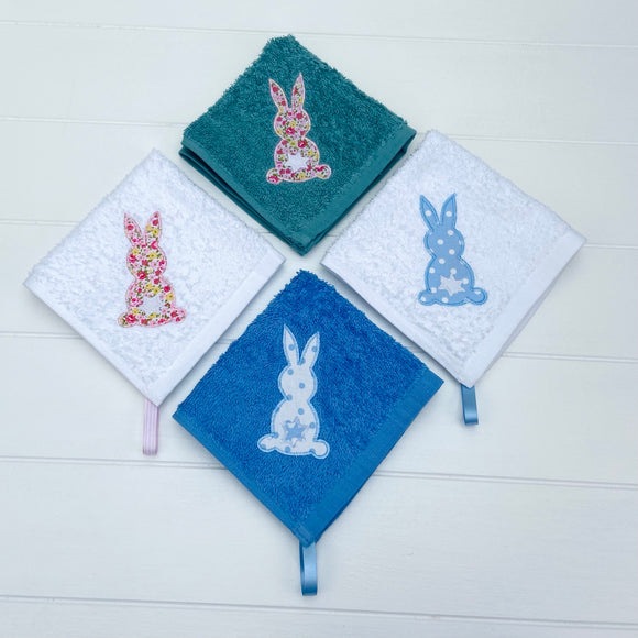 Easter Bunny Face Cloths