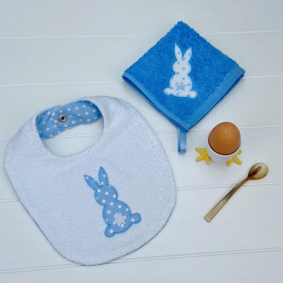 Bib and Face Cloth Set