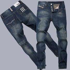 Classic Thin Cotton Men Jeans