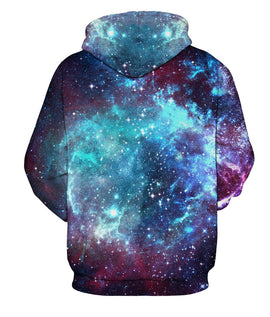 Galaxy Space Men Hoodies