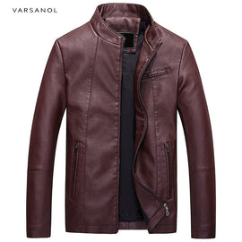 Causal Leather Men's  Jackets