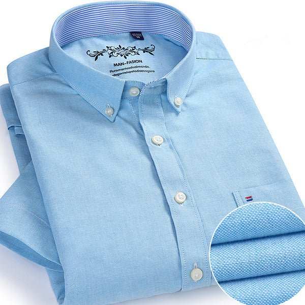Men Casual Short Sleeve Button Cloth