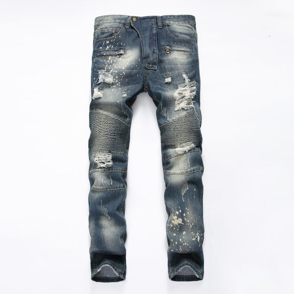 Casual Men Crazy Jeans