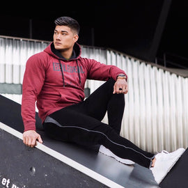 Fashion Men Bodybuilding Hoodies