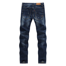 Casual Dark Blue Men jeans