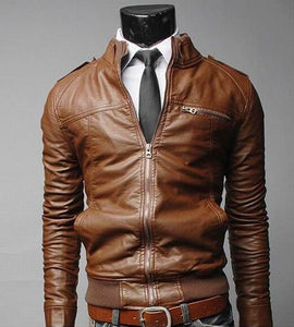 Classic Leather Men Jackets