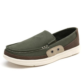 Breathable Casual Men Canvas Footwear