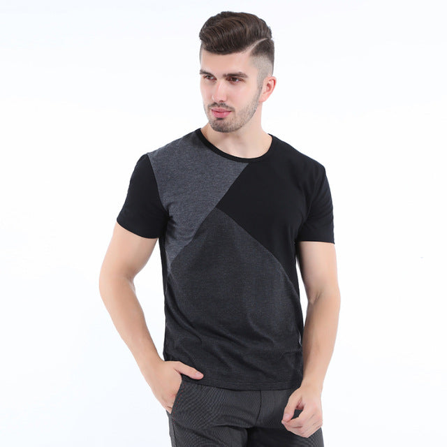 Casual Men Short SLeeve Round Neck