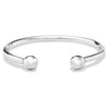 Silver Torc Bangle (Mens)