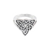 Celtic Trinity Knot Silver Ring