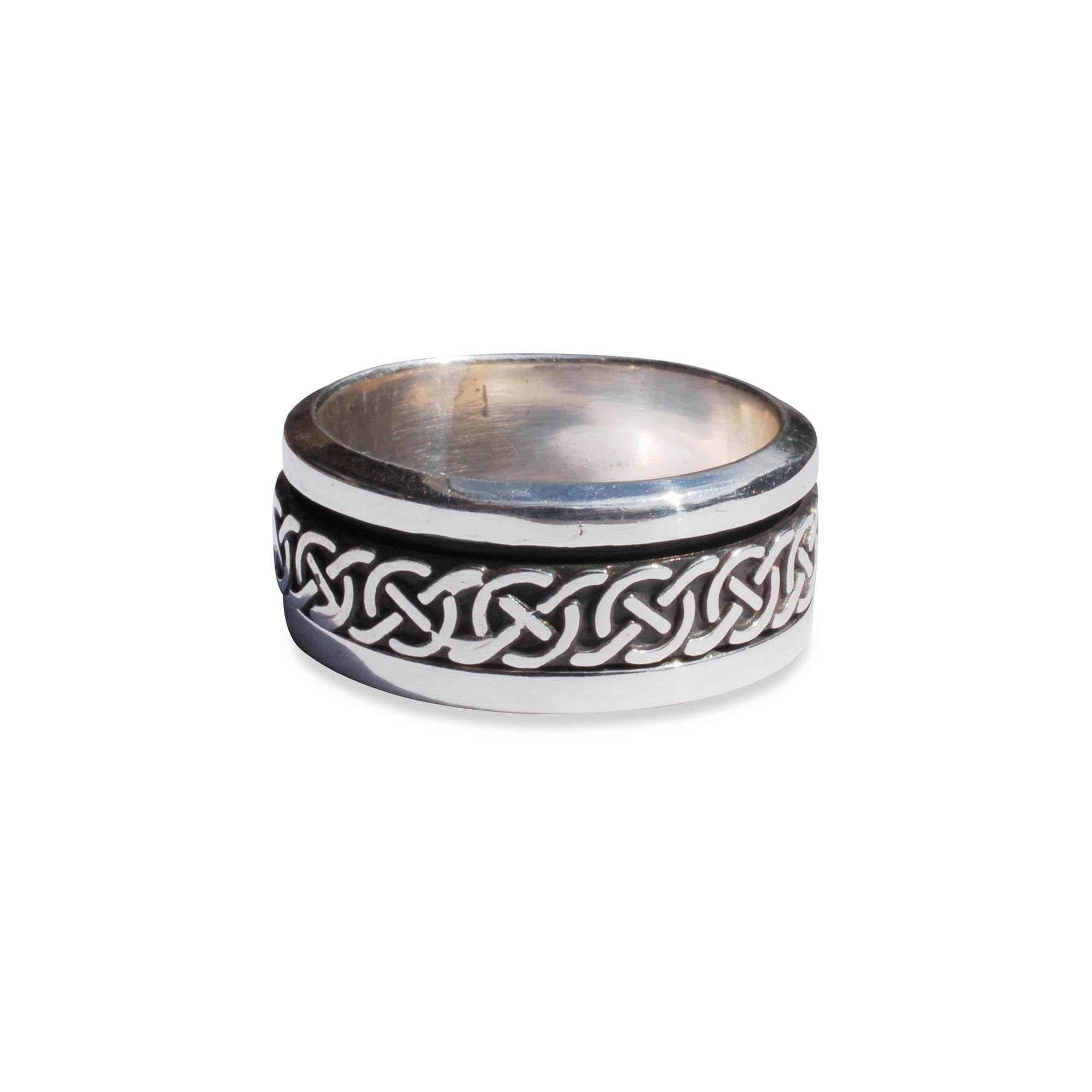 Celtic Knot Spin Ring