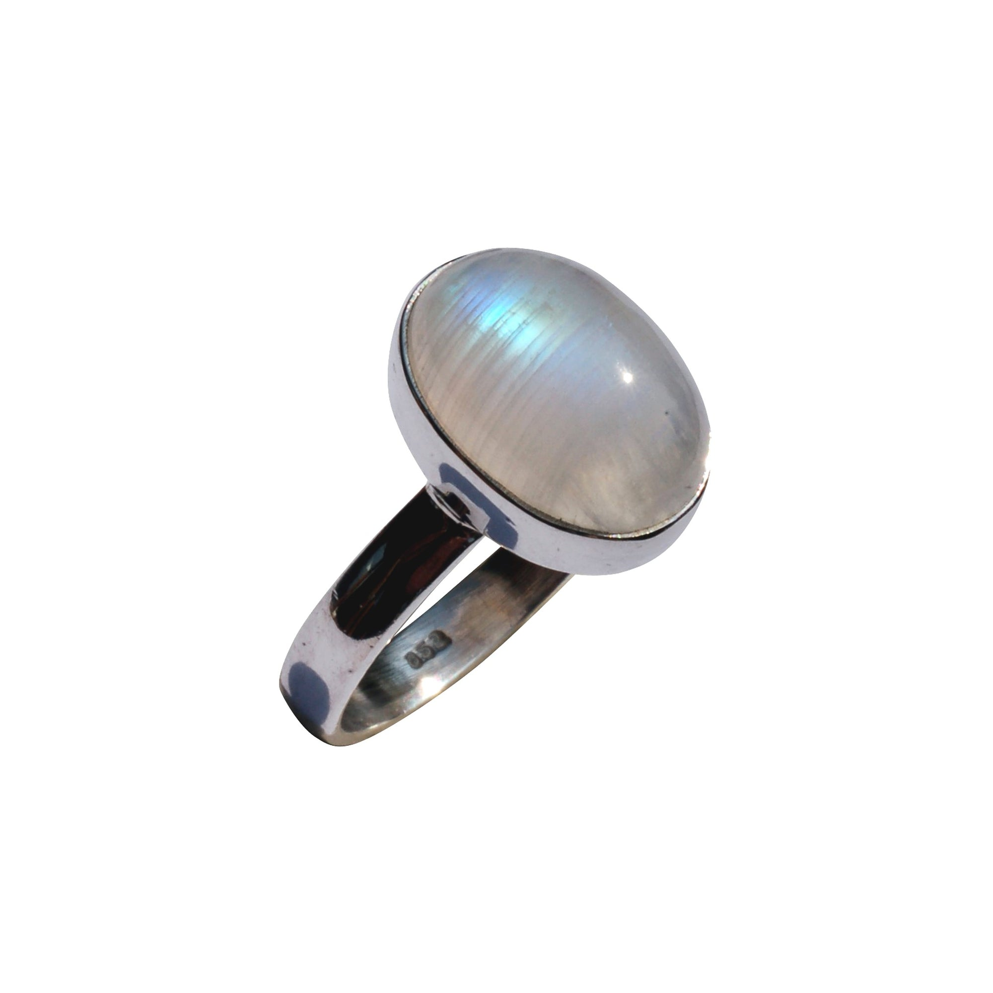 Rainbow Moonstone Ring (medium)