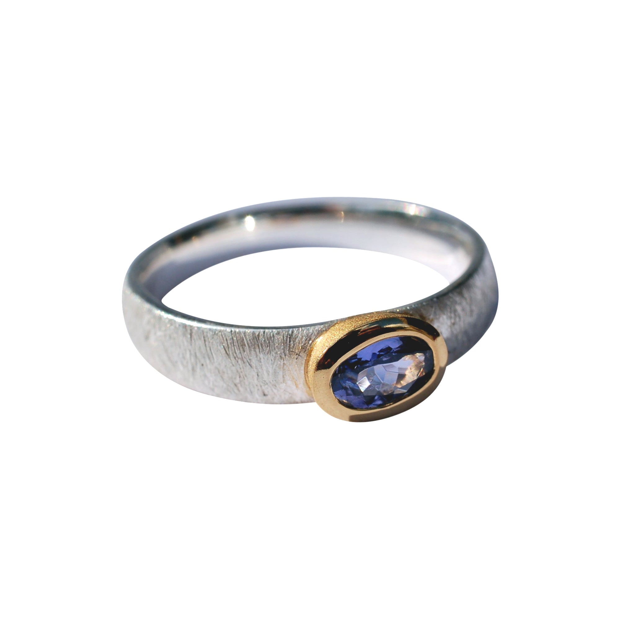 Tanzanite ring small