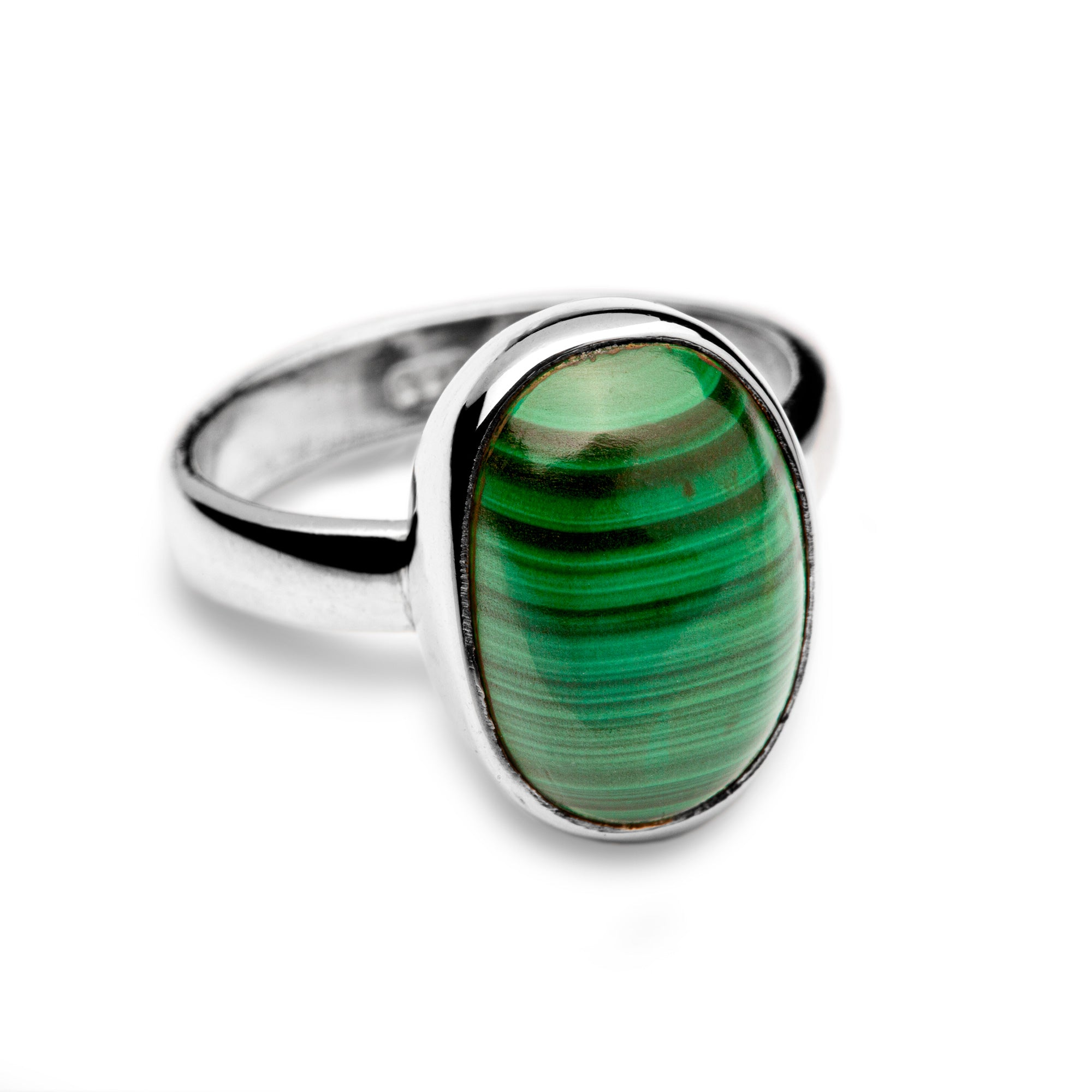 Malachite Ring (medium)