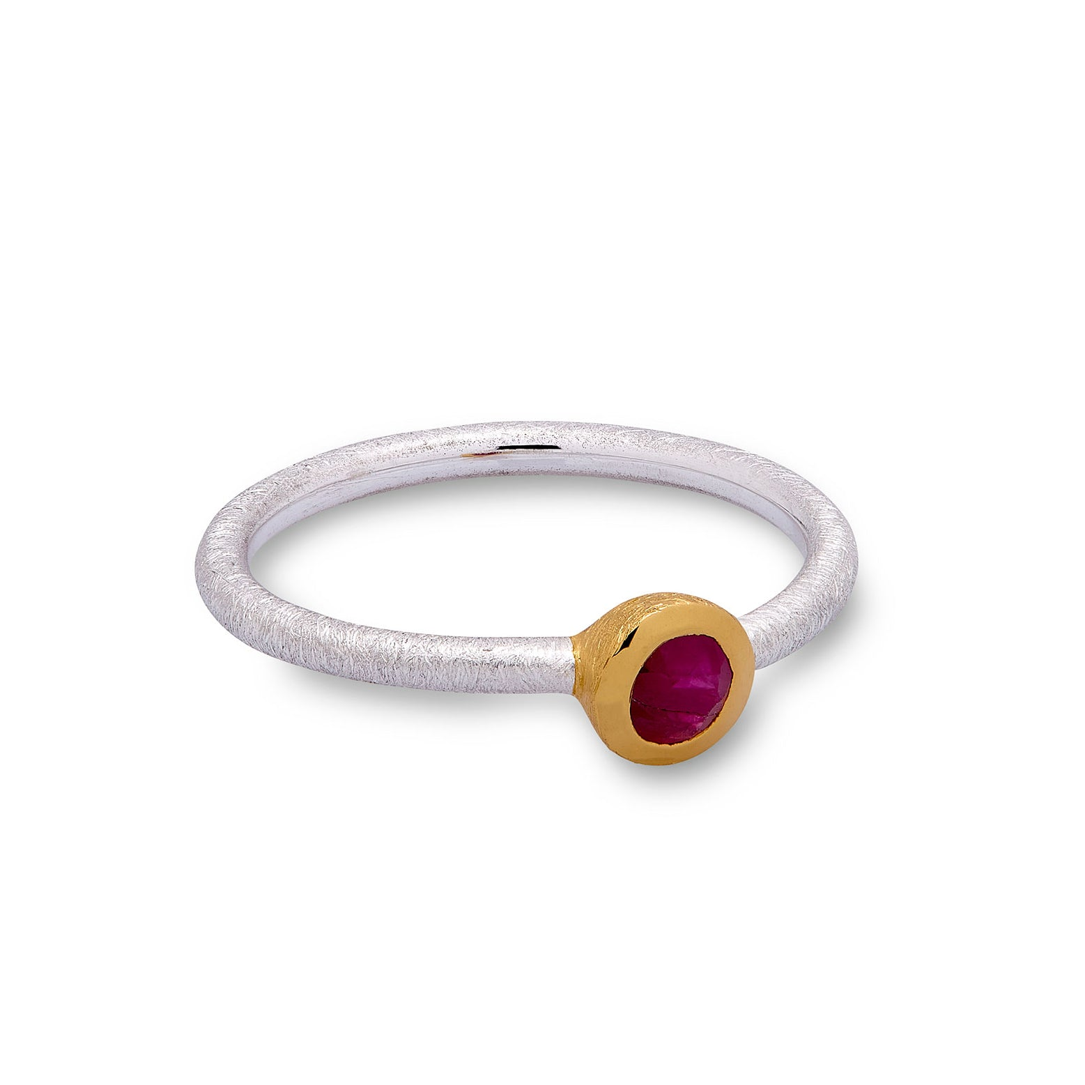 Ruby Ring (thin band)