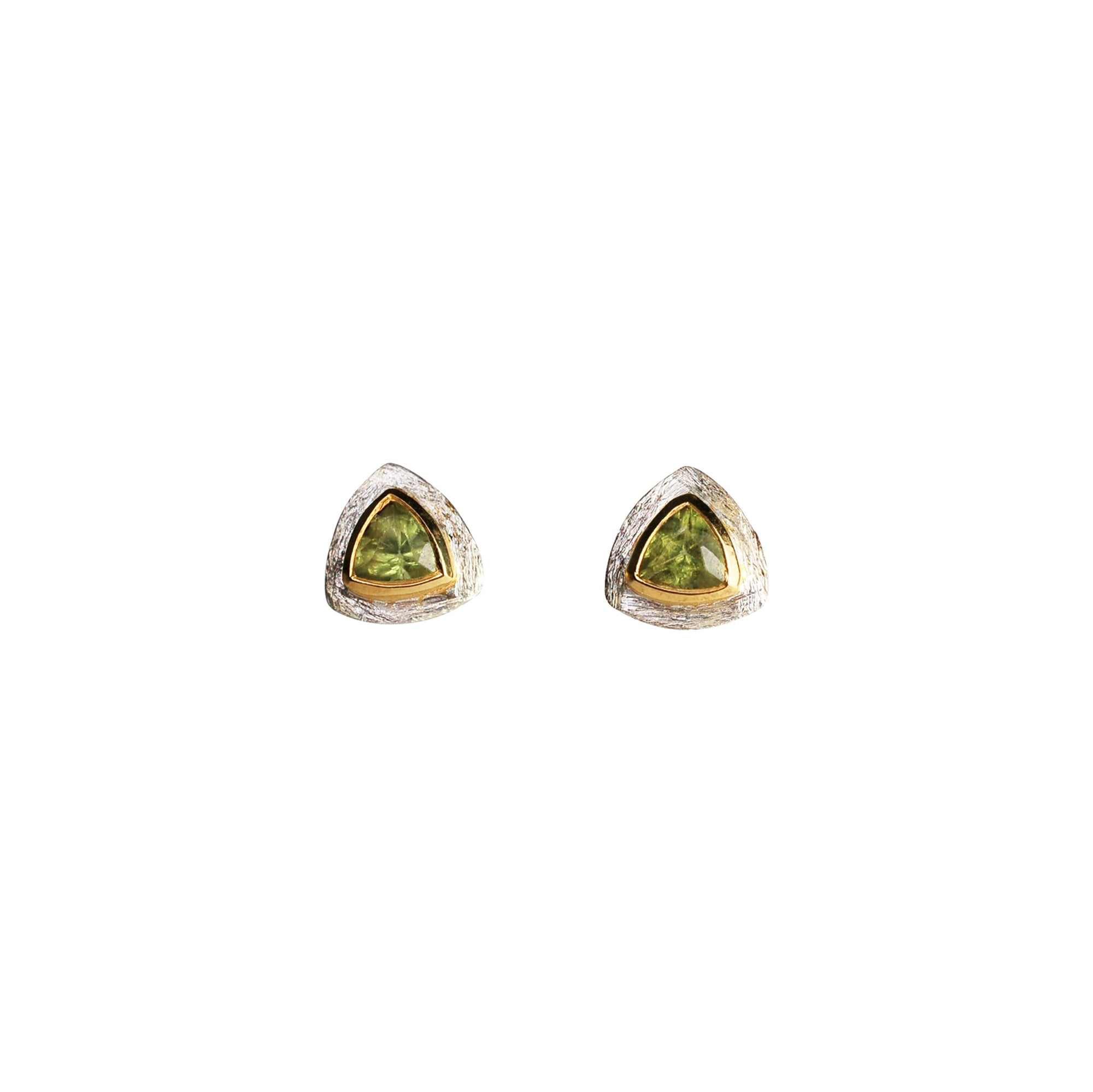 media jewelers fine by gold raven michael jewelry peridot earrings yellow diamond stud