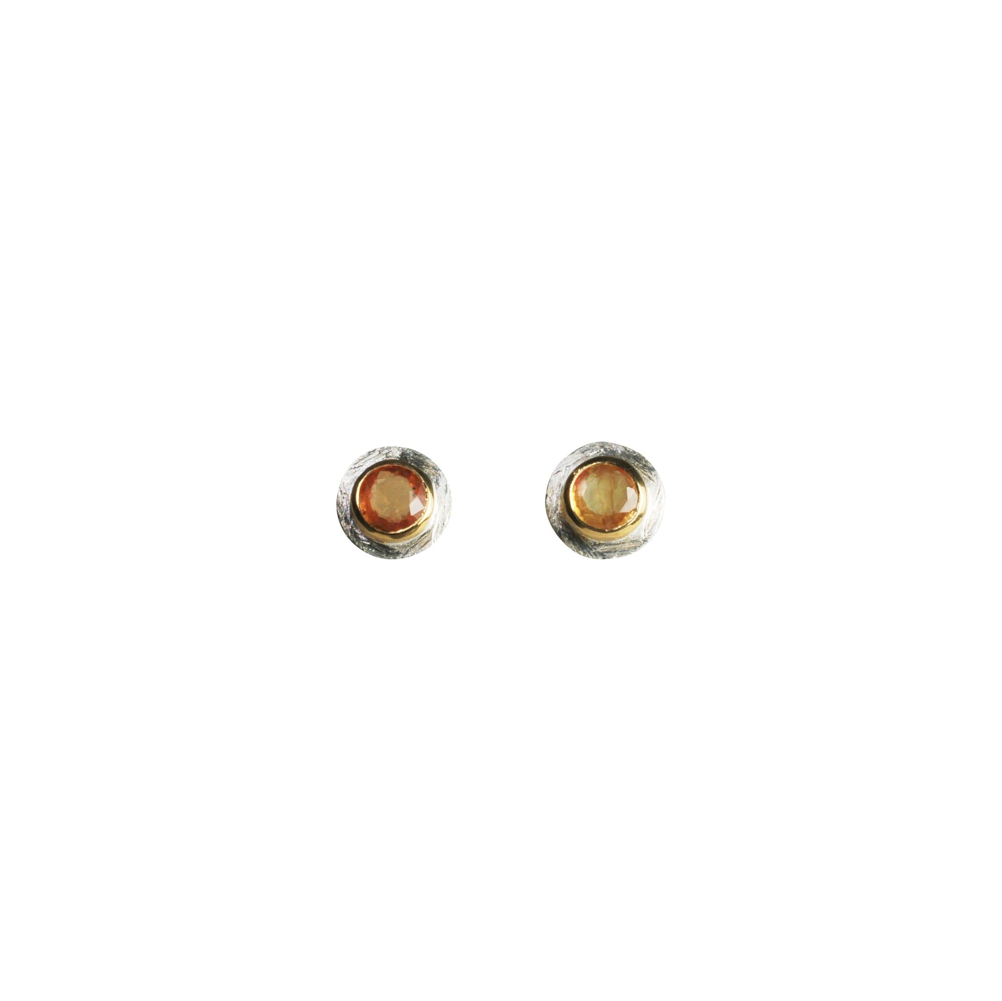 stud studs baguette product jane jpj jewelry yellow sapphire pope